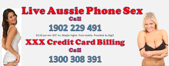 Credit card international phone sex